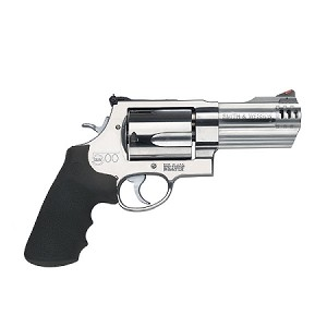 "SMITH & WESSON 500 500SW MAGNUM 4"" SATIN STAINLESS 5 ROUND"