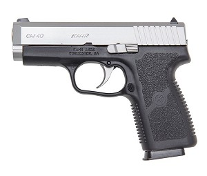 "KAHR CW40 40SW COMPACT 3.6"" M/SS 6 ROUND"