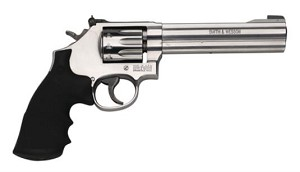 "SMITH & WESSON 617 22LR 6"" AS STAINLESS IL 10 ROUND"