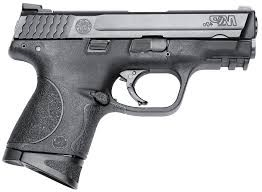 "SMITH & WESSON M&P 40C W/CT GREEN LASER CAL 40 S&W 3.5"" BBL"
