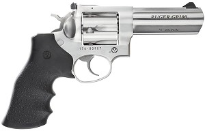 "RUGER KGP141 357 MAGNUM 4""  AS STAINLESS 6 ROUND"